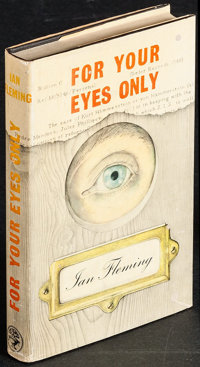 "For Your Eyes Only by Ian Fleming (Jonathan Cape, 1960). First Edition British Hardcover Book (252 Pages, 5"" X 8&qu..."