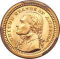 Commemorative Gold, 1903 G$1 Louisiana Purchase, Jefferson Gold Dollar MS67 PCGS....
