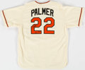 Baseball Collectibles:Uniforms, Jim Palmer Signed Baltimore Orioles Jersey....