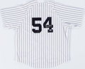 Baseball Collectibles:Uniforms, Goose Gossage Signed New York Yankees Jersey....
