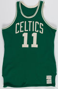 Basketball Collectibles:Uniforms, Early 1970's Steve Kuberski Game Worn Boston Celtics Jersey....