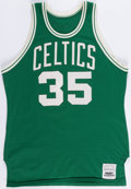 Basketball Collectibles:Uniforms, Early 1980's Charles Bradley Game Worn Boston Celtics Jersey. ...