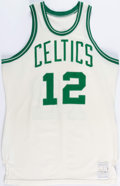 Basketball Collectibles:Uniforms, 1976-78 Sidney Wicks Game Worn Boston Celtics Jersey....
