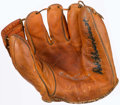 Baseball Collectibles:Others, Red Schoendienst Signed Vintage Baseball Glove....