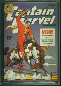 Captain Marvel Adventures #51 (Fawcett Publications, 1946) CGC VF/NM 9.0 Off-white to white pages