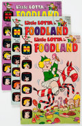 Silver Age (1956-1969):Humor, Little Lotta Foodland File Copies Group of 50 (Harvey, 1969-72) Condition: Average NM-.... (Total: 50 Comic Books)
