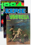 Magazines:Horror, Warren Miscellaneous Short Box Group (Warren, 1970s-80s) Condition: Average VG/FN....