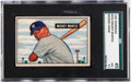 Baseball Cards:Singles (1950-1959), 1951 Bowman Mickey Mantle #253 SGC 45 VG+ 3.5....