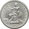Trade Dollars, 1878-CC T$1 -- Cleaning -- PCGS Genuine. AU Details....