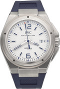 "Timepieces:Wristwatch, IWC Ingenieur Mission Earth ""Plastiki"" Special Edition Ref. IW323608. ..."