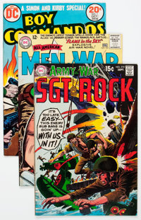 DC Silver to Bronze Age War Group of 51 (DC, 1960s-70s) Condition: Average VF.... (Total: 51 Comic Books)