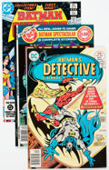 Bronze Age (1970-1979):Superhero, Batman Related Group of 48 (DC, 1970s-90s) Condition: AverageVF/NM.... (Total: 48 Comic Books)