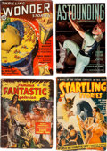 Pulps:Science Fiction, Assorted Science Fiction Pulps Group of 17 (MiscellaneousPublishers, 1935-51) Condition: Average GD/VG.... (Total: 17 Items)