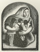"""Gerald Williamson """"Jerry"""" Bywaters (American, 1906-1989) Mexican Mother, 1936 Lithograph 15-1/2 x 12 inches (3..."""