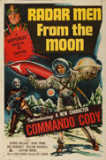 """Movie Posters:Serial, Radar Men from the Moon (Republic, 1952). Trimmed Stock One Sheet (27"""" X 40.75"""").. ..."""