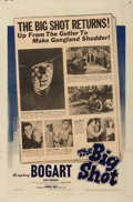 "Movie Posters:Crime, The Big Shot (Warner Brothers, 1942). One Sheet (27"" X 41"").. ..."