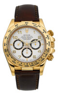 Timepieces:Wristwatch, Rolex Daytona Oyster Perpetual Cosmograph Ref. 16518. ...