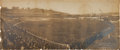 Baseball Collectibles:Photos, 1905 Polo Grounds (Giants vs. Pirates) Panoramic PhotographicDisplay....