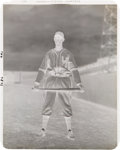 Baseball Collectibles:Photos, 1938 Ted Williams Original Negative by George Burke....