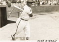 Baseball Collectibles:Photos, 1940's Josh Gibson Original Photograph, PSA/DNA Type 1 from TheMonte Irvin Collection. ...