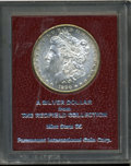 Additional Certified Coins: , 1890-S S$1 Redfield Dollar Paramount MS65 (MS61) Uncertified....