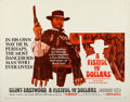 """Movie Posters:Western, A Fistful of Dollars (United Artists, 1967). Half Sheet (22"""" X 28"""").. ..."""
