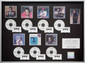 "Music Memorabilia:Awards, Luther Vandross Signed ""King of Croon"" RIAA In-House Platinum Award(Epic, circa 1989)...."