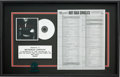 "Music Memorabilia:Awards, Ginuwine ""Pony"" Sony In-House Award (Sony 550, 1996)...."