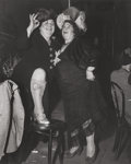 Photographs, Weegee (American, 1899-1968). At Sammy's on the Bowery, 1944. Gelatin silver. 13-1/8 x 10-5/8 inches (33.3 x 27 cm). The...