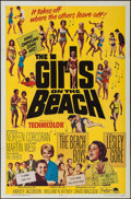 """Movie Posters:Rock and Roll, The Girls on the Beach (Paramount, 1965). One Sheet (27"""" X 41"""").Rock and Roll.. ..."""