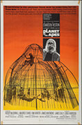 """Movie Posters:Science Fiction, Planet of the Apes (20th Century Fox, 1968). One Sheet (27"""" X 41""""). Science Fiction.. ..."""
