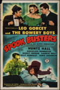 "Movie Posters:Comedy, Spook Busters (Monogram, 1946). One Sheet (27"" X 41""). Comedy.. ..."