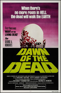 "Dawn of the Dead (United Film Distribution, 1978). One Sheet (27"" X 41"") Green Title Style. Horror"