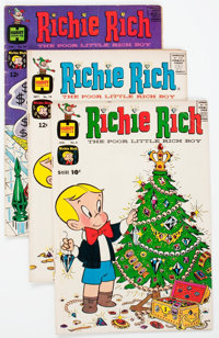 Richie Rich Group of 16 (Harvey, 1961-67) Condition: Average VG+.... (Total: 16 Comic Books)