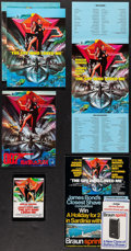 """Movie Posters:James Bond, The Spy Who Loved Me (United Artists, 1977). Programs (2) Identical (20 Pages, 9"""" X 11""""), Japanese Program (32 Pages, 8.25"""" ... (Total: 6 Items)"""