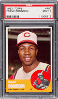 Baseball Cards:Singles (1960-1969), 1963 Topps Frank Robinson #400 PSA Mint 9 - None Higher. ...