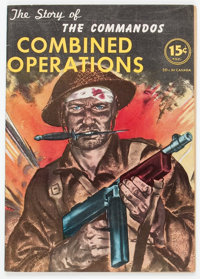 The Story of the Commandos #nn (Long Island Independent, 1943) Condition: VF+