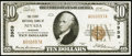 National Bank Notes, Nevada, MO - $10 1929 Ty. 1 Fr. 1801-1 The First NB Ch. # 3959. ...