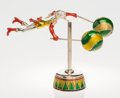 Silver & Vertu:Smalls & Jewelry, A Tiffany & Co. Silver and Enamel Female Circus Acrobat on Plinth, Designed by Gene Moore, New York, New York, circa 1990. M... (Total: 2 Items)