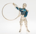 Silver Smalls:Other , A Tiffany & Co. Silver and Enamel Circus Animal Trainer,Designed by Gene Moore, New York, New York, circa 1990. Marks:TI...