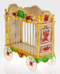 Silver Smalls:Other , A Tiffany & Co. Silver and Enamel Circus Lion Cage, Designed byGene Moore, New York, New York, circa 1990. Marks:TIFFANY...