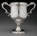 Silver Holloware, British:Holloware, A George West Irish Silver Two-Handled Standing Cup, Dublin,Ireland, circa 1795. Marks: GW, (Hibernia), (crownedharp),...