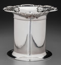 Silver Holloware, British:Holloware, A James Dixon & Sons Silver Wine Cooler, Sheffield, England,circa 1909. Marks: (lion passant), (crown), r,JD&S. 5-...