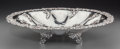 Silver Holloware, Continental:Holloware, A Continental Silver Footed Bowl, late 19th-early 20th century.Marks: 800. 3-3/8 inches high x 15 inches diameter (8.6 ...