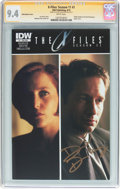 Modern Age (1980-Present):Science Fiction, The X-Files: Season 11 #1 Subscription Cover - Signature Series(IDW Publishing, 2015) CGC NM 9.4 White pages....
