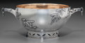 Silver & Vertu:Hollowware, A Tiffany & Co. Japanesque Silver Bowl, New York, New York, circa 1872-1891. Marks: TIFFANY & CO, 2842 MAKERS 6854, STERLI...