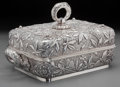 Silver Holloware, American:Entrée Dishes, A Dominick & Haff Japanesque Silver Covered Entree Dish, NewYork, New York, circa 1881. Marks: (rectangle-925-circle-diamon...
