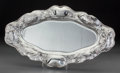 Silver Holloware, American:Platters, A Gorham Art Nouveau Martelé-Style Oval Platter with OceanicMotifs, Providence, Rhode Island, circa 1900. Marks: 1650,95...
