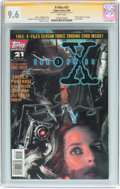 Modern Age (1980-Present):Science Fiction, X-Files #21 Signature Series (IDW Publishing, 1996) CGC NM+ 9.6White pages....