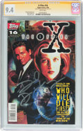 Modern Age (1980-Present):Science Fiction, X-Files #16 Signature Series (IDW Publishing, 1996) CGC NM 9.4White pages....